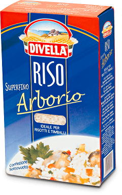 ARROZ ARBÓRIO DIVELLA 1KG