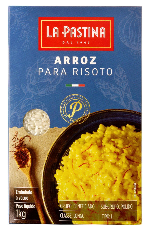 Arroz Para Risoto Italiano La Pastina (1Kg)