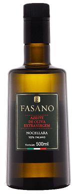 AZEITE ITALIANO FASANO EXTRA VIRGEM 100% SICILIANO NOCELLARA Acidez 0,3% (500ml)