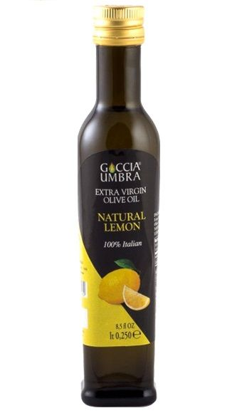 Azeite Italiano Goccia Umbra Extra Virgem Natural Lemon Acidez 0,4%(250 ml)