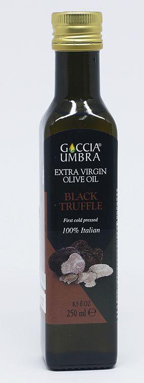 Azeite Italiano Goccia Umbra Extra Virgem Natural Truffle Black  acidez 0,5%(250ml)