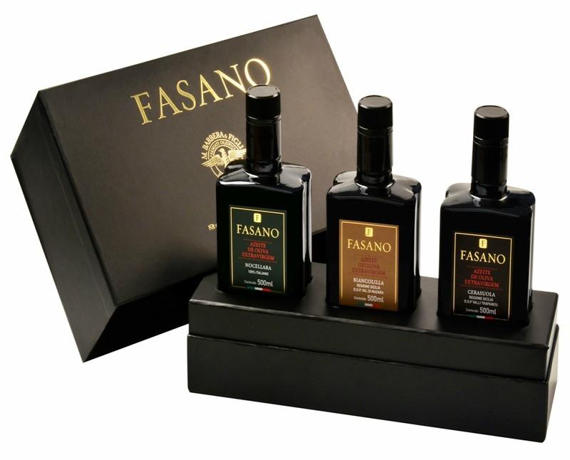 AZEITES TRIO ITALIANO FASANO SICILIANOS K (1,5L)