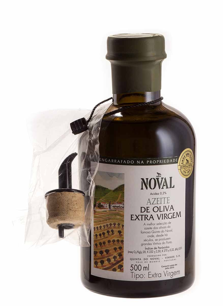 Azeite Português Extra Virgem Quinta do Noval 0,2 Acidez(500ml)