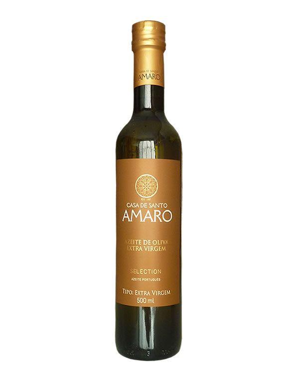 Azeite Potuguês Extra Virgem Casa de Santo Amaro Selection 0,2% Acidez(500ml)