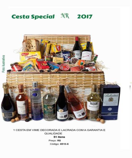 Cesta Especial NR (51 Itens)