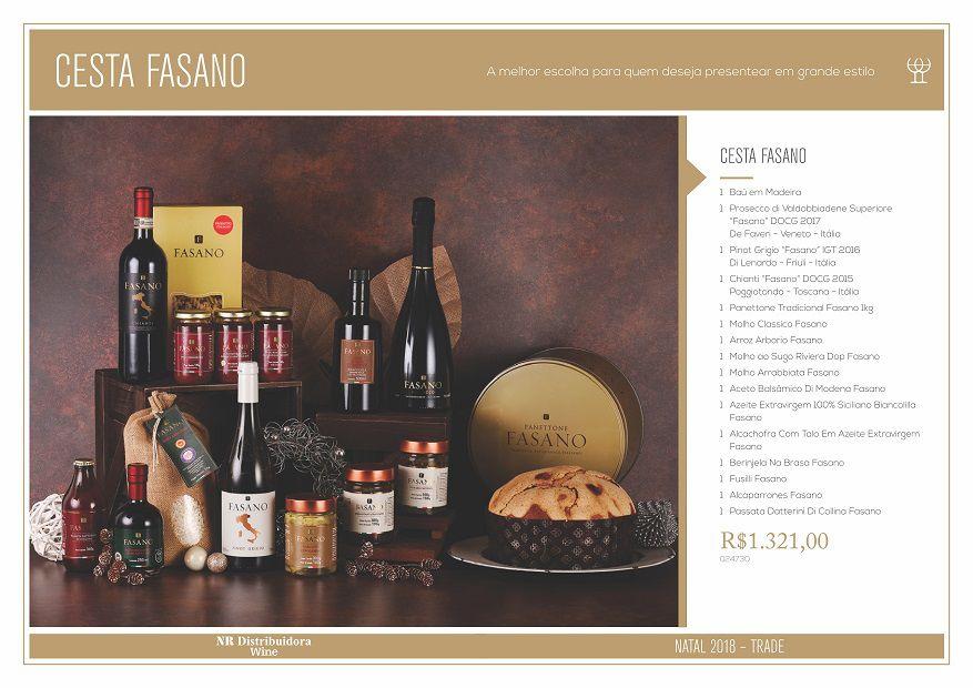 Cesta Fasano  4-(16) Itens