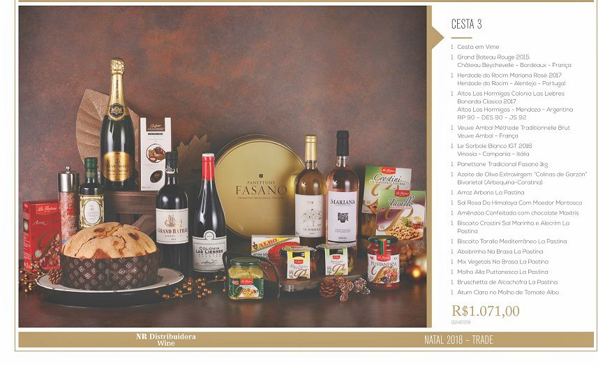 CestaNr Wine 3-(18Itens)