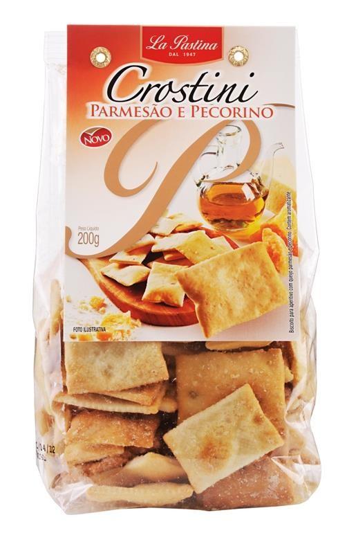 Crostini It La Pastina Parmesão e Picorino 200g