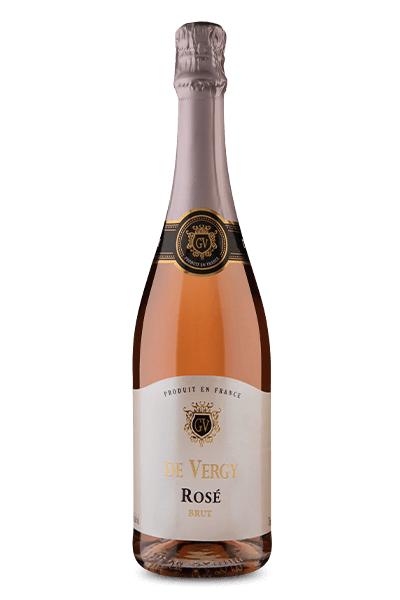 Espumante Francês  De Vergy Rosé (750ml)