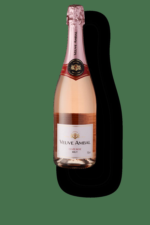 Espumante Francês Veuve Ambal Cuvée Rosé (750ml)
