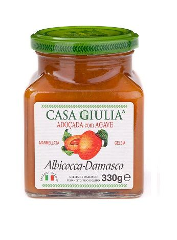 GELEIA IT CASA GIULIA DAMASCO C/ AGAVE (330 g)