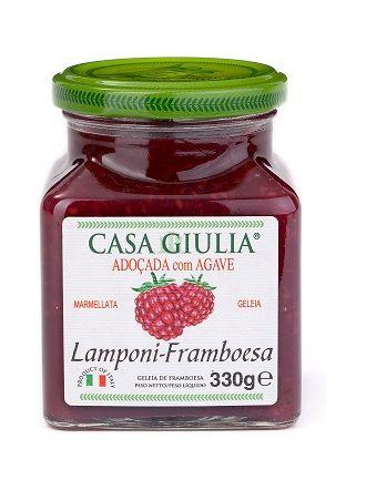 GELEIA IT CASA GIULIA FRAMBOESA C/ AGAVE (330 g)