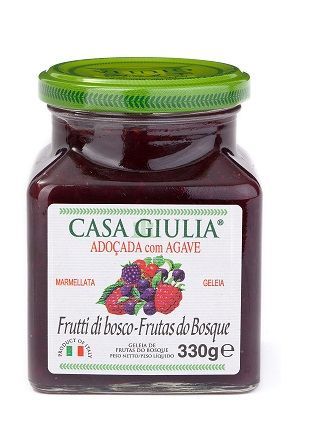 GELEIA IT CASA GIULIA FRUTAS DO BOSQUE C/ AGAVE (330 g)