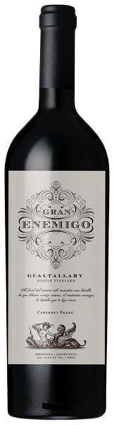 Gran Enemigo - Gualtallary - Single V. - Cabernet Franc - 2014(750ml)