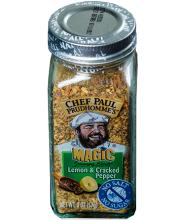 Lemon & Cracked Pepper Magic (Limão e Pimenta) 57g