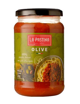 Molho Alle Olive (Azeitonas) La Pastina(320g)