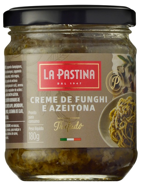 MOLHO FUNGHI/AZEITONA ITALIANO C/ TRUFAS LA PASTINA(180G)