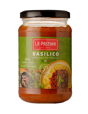 Molho Italiano La Pastina Al Basilico e Manjericão(320g)