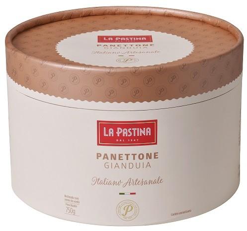 PANETTONE ITALIANO GIANDUIA LA PASTINA (750G)