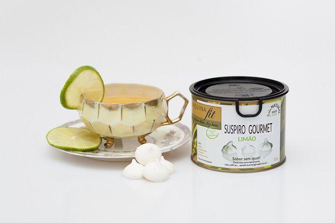 Suspiro Gourmet - Limão  (30G)