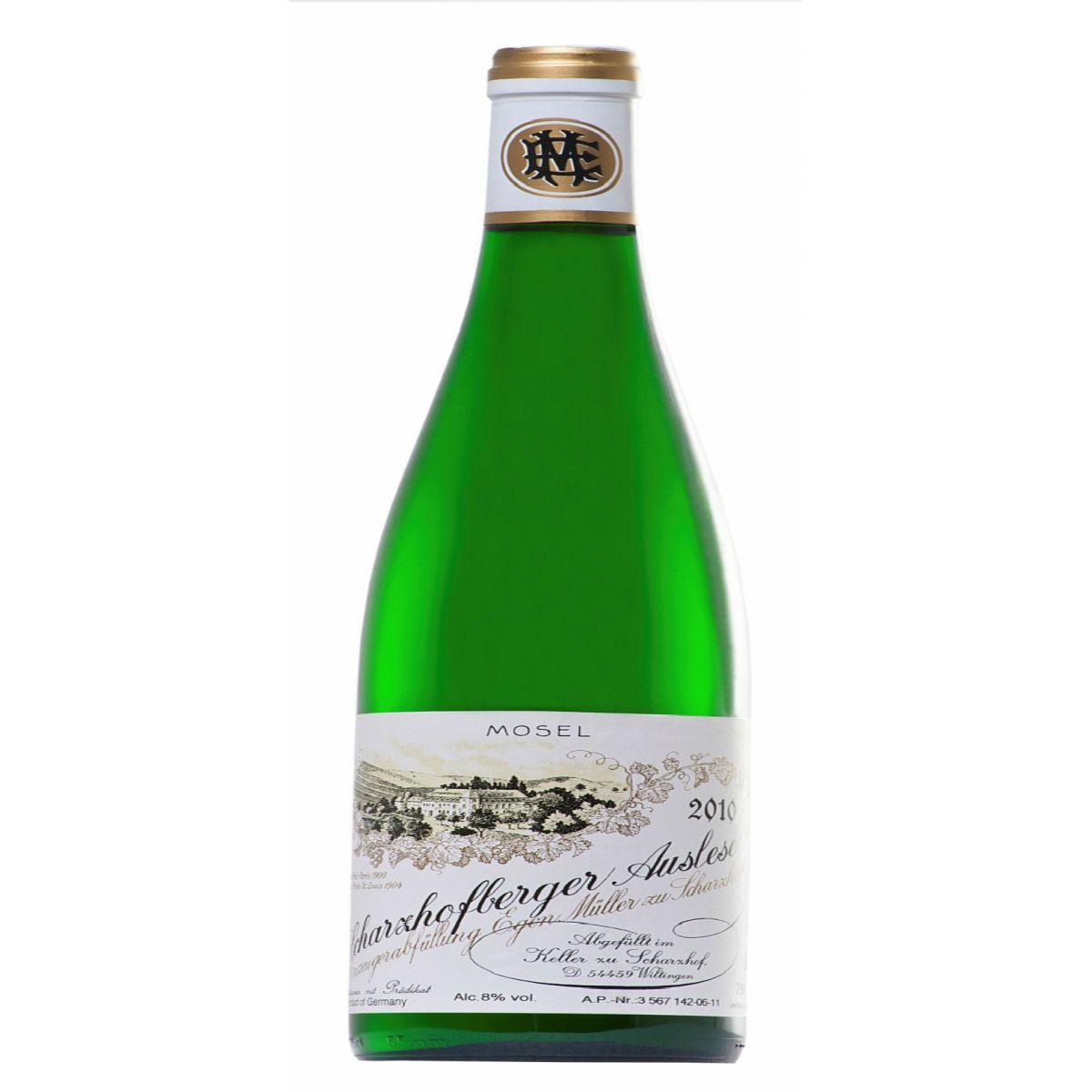 Vinho Alemão Vinho Egon Muller Riesling - Scharzhofberger Auslese 2010(750ml)