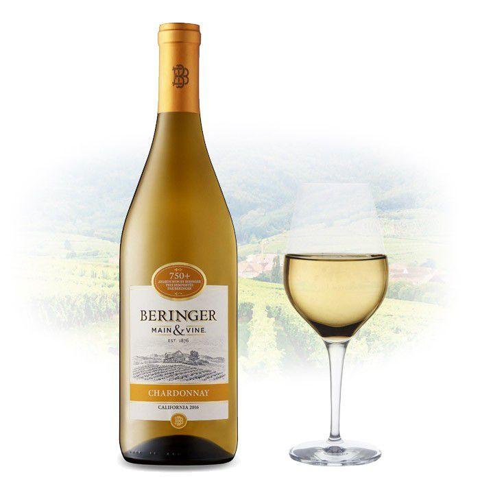 Vinho Americano Beringer Chardonnay 2017(750ML)
