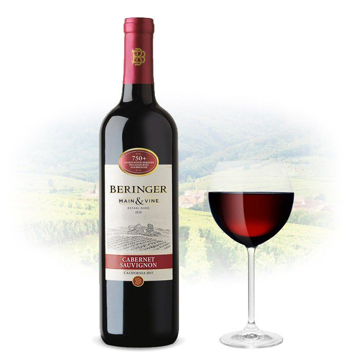 Vinho Americano Beringer Cabernet Sauvignon 2017(750ML)