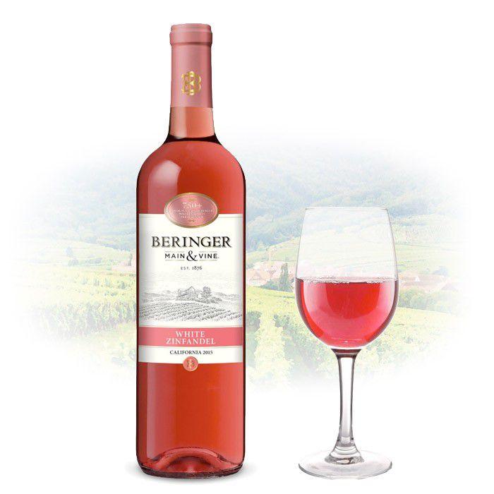 Vinho Americano Beringer Rose White Zinfandel 2017(750ml)