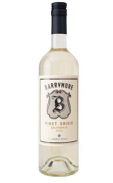 Vinho California Carmel Road Barrymore Pinot Grigio 2017(750ml)