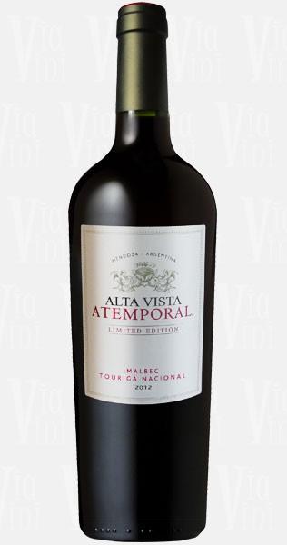 Vinho Argentino Alta Vista  Atemporal Malbec/Cabernet/Petit  Verdot 2014(750ml)
