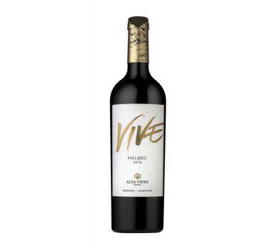 VINHO ARGENTINO ALTA VISTA VIVE CLASSIC MALBEC 2018(750ML)