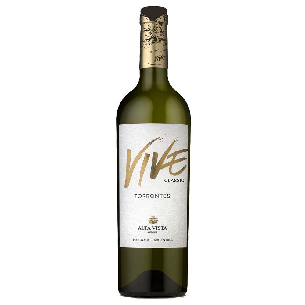 VINHO ARGENTINO ALTA VISTA VIVE CLASSIC TORRONTES 2017(750ml)