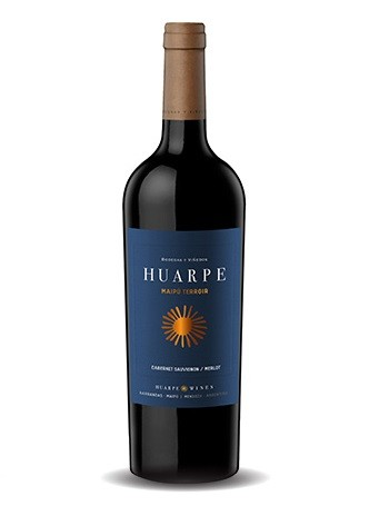 Vinho Argentino Huarpe Maipú Cabernet/Merlot 2010(750ml)