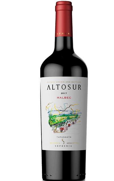 Vinho Argentino Sophenia Altosur Reserve Malbec 2019(750ml)