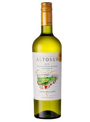 Vinho Argentino Sophenia Altosur Reserve Sauvignon Blanc  2018(750ml)