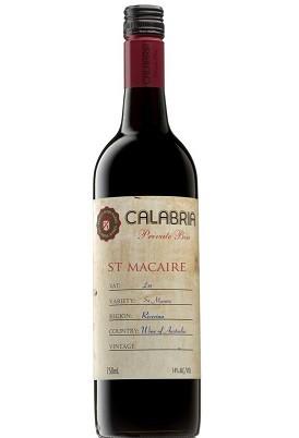 Vinho Australiano Calabria Private Bin 100% Saint Macaire 2013(750ml)