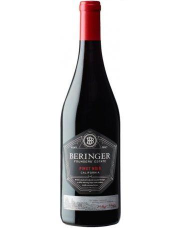 Vinho Californiano Beringer Founders Estate Pinot Noir 2018(750ml)