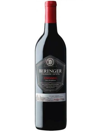 Vinho Californiano Beringer Founders Estate Zinfandel 2016(750ml)