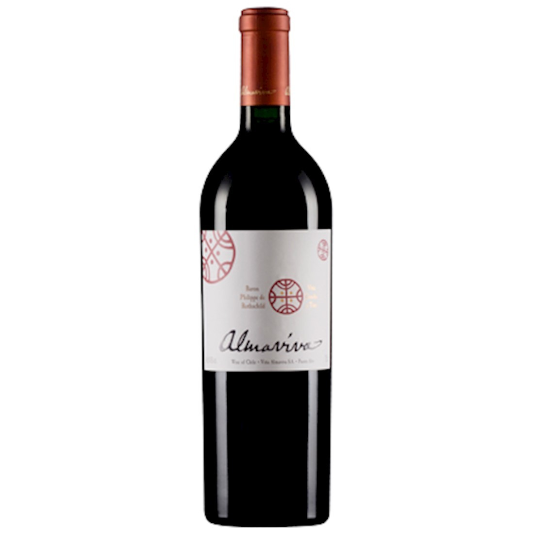 Vinho Chileno Almaviva 2012(750ml) RP-93,WS-92,JS-96 e WE-92