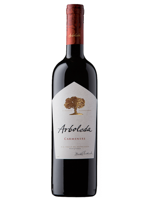 Vinho Chileno Arboleda Carmenère 2016(750ml)