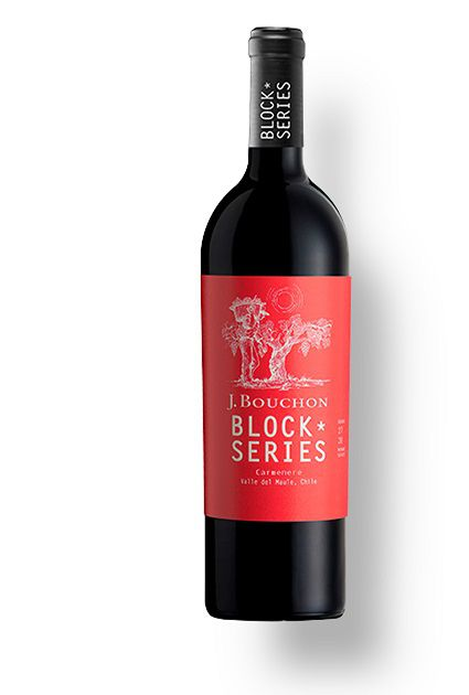 Vinho Chileno Bouchon Block Series Carmenere 2016(750ml)