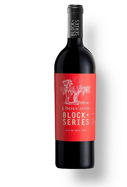 Vinho Chileno Bouchon Block Series Malbec 2016(750ml)