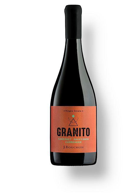 Vinho Chileno Bouchon Granito Cabernet Sauvignon - Carmenere 2016(750ml)