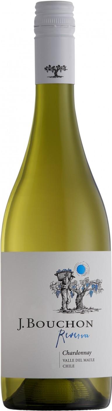 Vinho chileno Bouchon Reserva Chardonnay 2018(750ml)