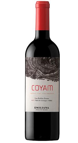 Vinho Chileno Emiliana Coyam Tinto 2018(750ml)