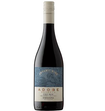 Vinho Chileno Emiliana Orgânico Adobe Reserva Pinot Noir 2019(750ml)