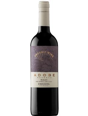 Vinho Chileno Emiliana Orgânico Adobe Reserva Merlot 2018 (750ML)