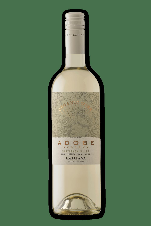 Vinho Chileno Emiliana Orgânico Adobe Reserva Sauvignon Blanc 2019(750ml)
