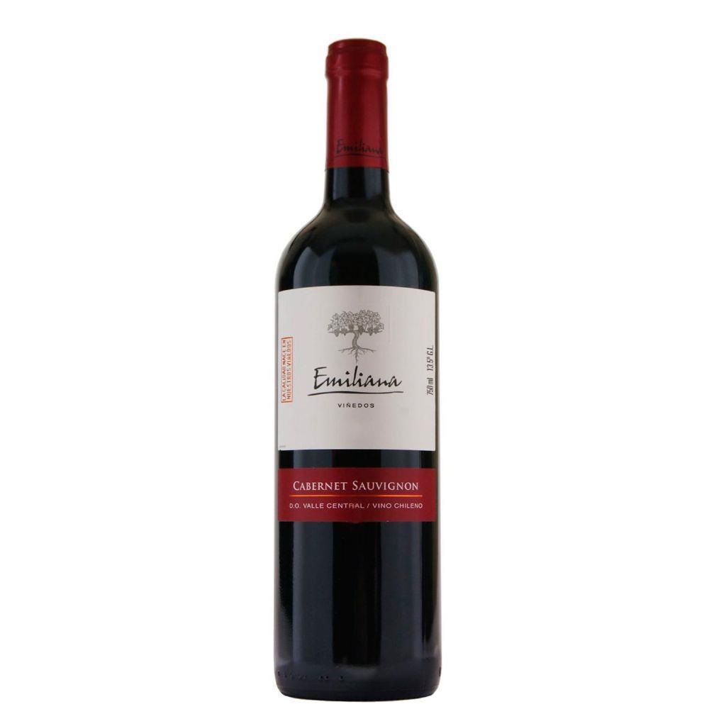 Vinho chileno Emiliana Varietal Cabernet Sauvignon 2017(750ml)