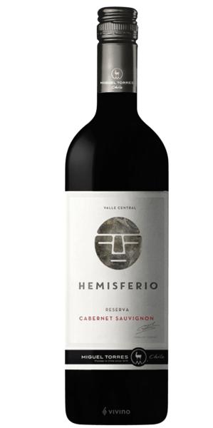VINHO CHILENO M. TORRES HEMISFERIO CABERNET SAUVIGNON TTO 2017 (750ml)